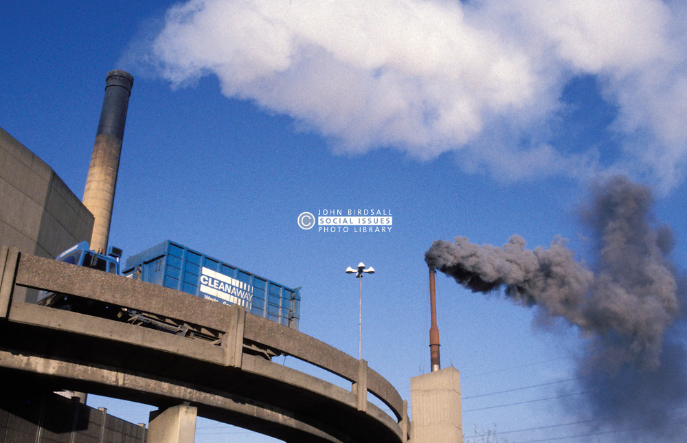 Howden waste incinerator; North Tyneside; UK