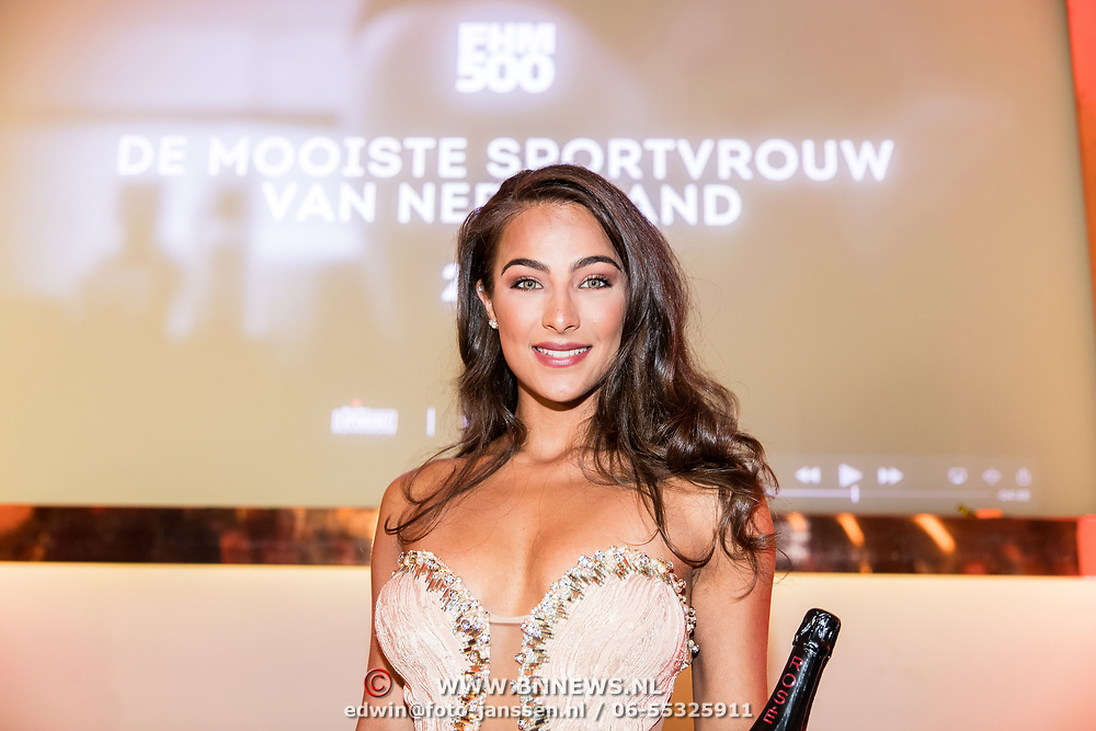NLD/Amsterdam/20170524 - FHM500 2017, winnares Nochtli Peralta Alvarez