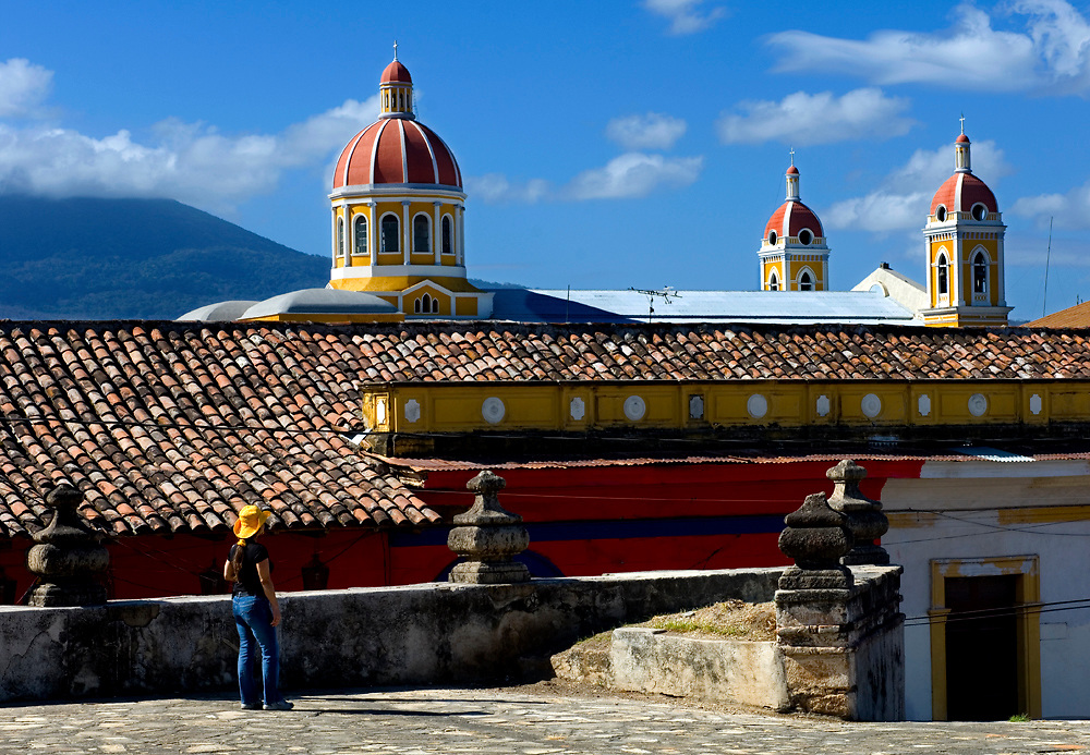 Nicaragua / Granada / Cathedral of Granada / Tourist