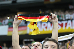 06.09.2013, Allianz Arena, Muenchen, GER, FIFA WM Qualifikation, Deutschland vs Oesterreich, Rueckspiel, im Bild Fans (Deutschland) mit Schal, Fahne, // during the FIFA World Cup Qualifier second leg Match between Germany and Austria at the Allianz Arena, Munich, Germany on 2013/09/06. EXPA Pictures © 2013, PhotoCredit: EXPA/ Eibner/ Christian Kolbert<br /> <br /> ***** ATTENTION - OUT OF GER *****
