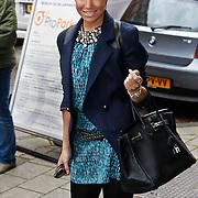 NLD/Amsterdam/20101018 - Lunch 25 jarig bestaan blad Beau Monde, Sylvie van der Vaart - Meijs