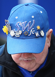 Sheffield Wednesday's supporter before the game against Preston North End