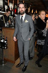 JACK GUINNESS at the launch of Korean restaurant Jinjuu with chef Judy Joo at 15 Kingley Street, London on 22nd January 2015.