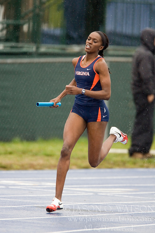 Virginia Cavaliers Janne'a Bridgeford was the lead off leg in the winning women's 4x400 team.  The Virginia Cavaliers Track and Field team hosted the 2007 Lou Onesty/Milton G. Abramson Invitation at Lannigan Field at the University of Virginia on April 14, 2007.