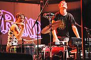Matt & Kim perform at Terminal 5 in New York City on March 21, 2009.