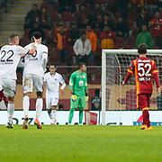 Kasimpasaspor's Adem Buyuk scores during their Turkish Super League soccer match Galatasaray between Kasimpasaspor at the TT Arena at Seyrantepe in Istanbul Turkey on Friday, 31 October 2014. Photo by Kurtulus YILMAZ/TURKPIX