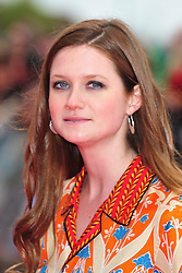 © Licensed to London News Pictures. 31/03/2012. Watford, England. Bonnie Wright attends The Warner Bros. Studio Tour London - The Making of Harry Potter ** GRAND OPENING at Leavesden Studios near Watford Hertfordshire  Photo credit : ALAN ROXBOROUGH/LNP