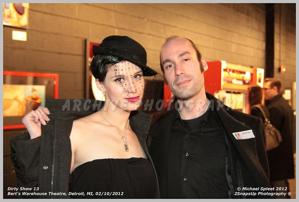 DETROIT, MI, SATURDAY, FEB. 11, 2012: Dirty Show 13,  at Bert's Warehouse Theatre, Detroit, MI, 02/11/2012.  (Image Credit: Michael Spleet / 2SnapsUp Photography)