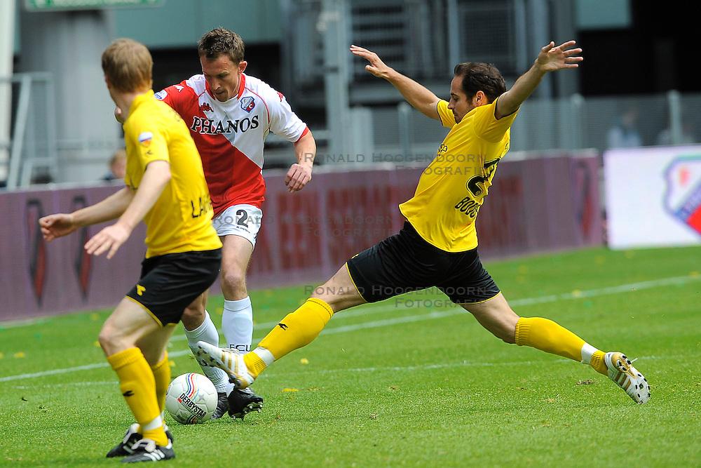 16-05-2010 VOETBAL: FC UTRECHT - RODA JC: UTRECHT<br /> FC Utrecht verslaat Roda in de finale van de Play-offs met 4-1 en gaat Europa in / Tim Cornelisse en Boldiszar Bodor<br /> ©2009-WWW.FOTOHOOGENDOORN.NL