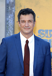 Nathan Fillion at the Los Angeles premiere of 'The Suicide Squad' held at the Regency Village Theatre in Westwood, USA on August 2, 2021.