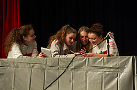 LHS Spelling Bee with Got Lunch Laconia.  Karen Bobotas for the Laconia Daily Sun