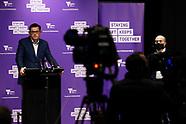 Victorian Premier Dan Andrews Holds Press Conference