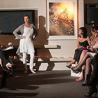 Models on the catwalk in the Penthouse Suite at the Brown Thomas fashion show which took place at the stunning Aghadoe Heights Hotel, Killarney in aid of 'Irish Autism Action'.<br /> Picture by Don MacMonagle<br /> further info: Valerie Keating 0872464406