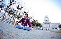 MC Yogi at the City Hall, San Francisco