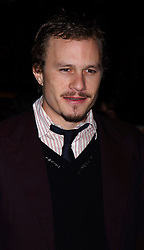 Heath Ledger at the premiere of Brokeback Mountain in New York.<br /> Walter Weissman/starmax/allactiondigital.com