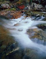 Pyrenées, Ruisseau du Cot (stream) close to Cirque de Troumouse, <br /> Ruisseau du Cot, Pyrenees, France