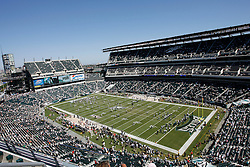 6 Sept 2008:  Lincoln Financial field before the game against the St Louis Rams on August 28, 2008. The Eagles beat the Rams 38-3 at Lincoln Financial Field in Phialdelphia, Pennsylvania. (Photo by Brian Garfinkel)