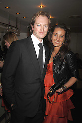 MAXIMILLION COOPER and JULIE BRANGSTRUP at a dinner in aid of Eve Appeal, Gynaecology Cancer research Fund held at Nobu, The Metropolitan Hotel, Park Lane, London on 3rd September 2007.<br /><br />NON EXCLUSIVE - WORLD RIGHTS