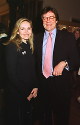 SIR JOHN & LADY MACTAGGART Bt. at a reception in London on 1st February 1999.MNT 11
