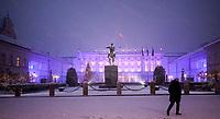 15.01.2014 Warszawa N/z Palac Prezydencki przy ulicy Krakowskie Przedmiescie fot Michal Kosc / AGENCJA WSCHOD