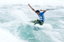 Jul 3, 2017 - KwaDukuza, South Africa - Michael February of South Africa advanced to Round Three of The Ballito Pro after winning Heat 1 of Round Two. (Credit Image: © Kelly Cestari/World Surf League via ZUMA Wire)