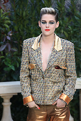 File photo dated January 22, 2019 of Kristen Stewart at the Chanel show as part of Paris Haute Couture Fashion Week Spring/Summer 2019-2020 in Paris, France. Twilight actress Kristen Stewart will play Princess Diana in a new film about the late princess's break-up from Prince Charles, according to reports. Stewart will star in Spencer, set in the early 1990s, which will be scripted by Peaky Blinders creator Steven Knight, Hollywood news sites say. Photo by Jerome Domine/ABACAPRESS.COM