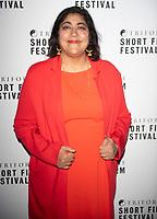 Gurinder Chadha at the TriForce Short Film Festival gala ceremony, BFI Southbank, London, UK - 30 Nov 2019