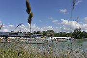 Munich, GERMANY,   General Views of the Boathouse and  Boating Area, 2012 World Cup III on the Munich Olympic Rowing Course,  Wednesday   13/06/2012. [Mandatory Credit Peter Spurrier/ Intersport Images]..