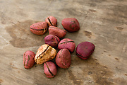 Kola nuts are very appreciated by older people throughout Mali. These nuts come from neighbouring Ivory Coast and have stimulating properties.
