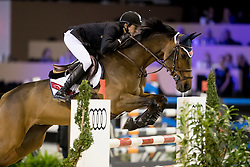 Porter Lucas, USA, B Once Z<br /> Jumping Indoor Maastricht 2016<br /> © Hippo Foto - Dirk Caremans<br /> 12/11/2016