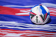 Mitre Delta Max EFL official match ball during the EFL Sky Bet League 2 match between Scunthorpe United and Bolton Wanderers at the Sands Venue Stadium, Scunthorpe, England on 24 November 2020.