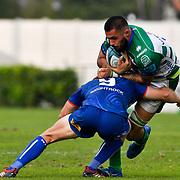 Treviso, Italy, 25/09/2021 Stadio di Monigo<br /> United Rugby Championship Benetton Vs Stormers<br /> Riccardo Favretto
