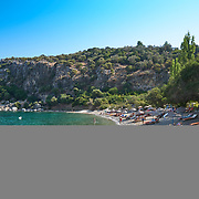 Amos beach near Turunc village in Mugla province, Turkey