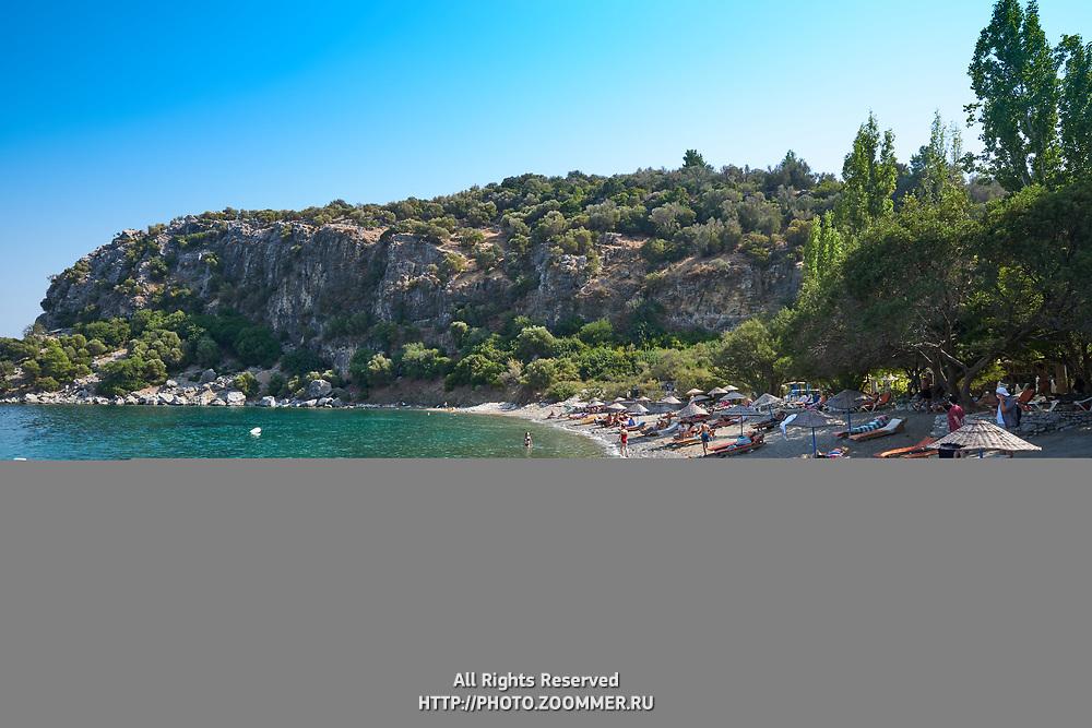 Amos beach near Turunc village in Mugla province, Turkey