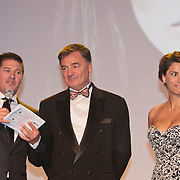 NLD/Amsterdam/20110515 - Coiffure awards 2011, Martijn Krabbe, ............. en Kristina Bozilovic