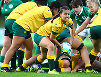 Rugby Union - 2017 Women's Rugby World Cup (WRWC) - Pool C: Ireland vs. Australia<br /> <br /> Australia's Katrina Barker in action, at the UCD Bowl, Dublin.<br /> <br /> COLORSPORT/KEN SUTTON