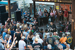 David Allan Coe performing at the Iron Horse Saloon in Ormond Beach, FL, during Biketoberfest. October 16, 2014, photographed by Michael Lichter. ©2014 Michael Lichter