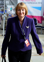 "© under license to London News Pictures. LONDON, UK. 25/02/14 Harriet Harman has said she ""regrets"" that a civil liberties group she used to work for had links to pro-paedophile campaigners in the 1970s and 1980s. FILE PICTURE DATED 03/10/2012. Manchester, UK Deputy Leader of the Labour Party Harriet Harman arrives to give her speech on Day 5 at The Labour Party Conference at Manchester Central today 3rd october 2012. Photo credit : Stephen Simpson/LNP"