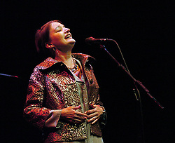 Jane Siberry <br /> performing live in London, Great Britain on 27th March 2006<br /> <br /> Photograph by Elliott Franks