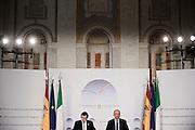 Mariano Rajoy and Enrico Letta during Italian Spanish summit at villa Madama. Rome, 27 january 2014. Christian Mantuano / OneShot