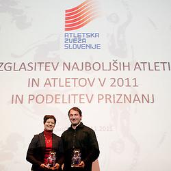 20111111: SLO, Athletics - Slovenian Atheltics Annual Awards by AZS for year 2011