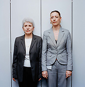 Maxine Johnston and her mother Anne Hemming are both receptionists at this large accountancy firm in the south of England.  Seeing family members working together one might ask whether we are predisposed to follow our parents professions. From the series Desk Job, a project which explores globalisation through office life around the World.