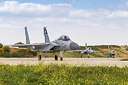 Israeli Air force (IAF) Fighter jet F-15 (BAZ) on the ground