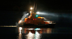 Oban's RNLB Mora Edith MacDonald assisting along with other emergency services in the search for a missing person in the Oban area....... (c) Stephen Lawson   Edinburgh Elite media