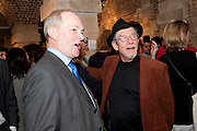 JOHN HURT, The launch party of HiBrow and A Mighty Big If. ÊThe Crypt. St. Martins in the Fields. London. 24 January 2012<br /> JOHN HURT, The launch party of HiBrow and A Mighty Big If.  The Crypt. St. Martins in the Fields. London. 24 January 2012