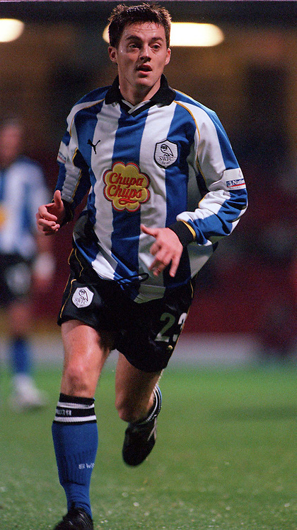 Terry Cooke (Sheffield Wednesday) Watford v Sheffield Wednesday, 7/11/2000. Credit: Colorsport / Matthew Impey