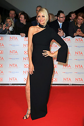 at the National Television Awards at the 02 Arena in London, UK. 24 Jan 2018 Pictured: Tess Daly. Photo credit: MEGA TheMegaAgency.com +1 888 505 6342