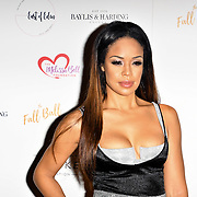 Sarah-Jane Crawford attends gala dinner and concert to raise money and awareness for the Melissa Bell Foundation and Style For Stroke Foundation. 14 October 2018.