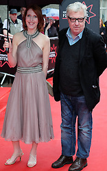 """Edinburgh International Film Festival, Sunday 26th June 2016<br /> <br /> Stars turn up on the closing night gala red carpet for the World Premiere of """"Whisky Galore!""""  at the Edinburgh International Film Festival 2016<br /> <br /> Fenella Woolgar who plays Dolly in the film with John Sessions<br /> <br /> (c) Alex Todd   Edinburgh Elite media"""