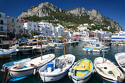 Capri Harbor, Capri, Italy